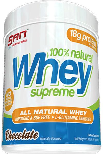 San 100% Natural Whey Supreme 454g